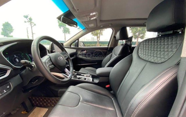 Hỗ trợ mua xe giá thấp với chiếc Hyundai Santafe phiên bản 2.2D máy dầu đặc biệt đời 20206