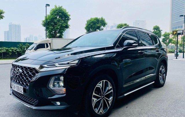 Hỗ trợ mua xe giá thấp với chiếc Hyundai Santafe phiên bản 2.2D máy dầu đặc biệt đời 20200