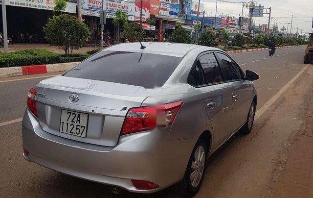 Bán Toyota Vios đời 2014, màu bạc chính chủ, 339 triệu3