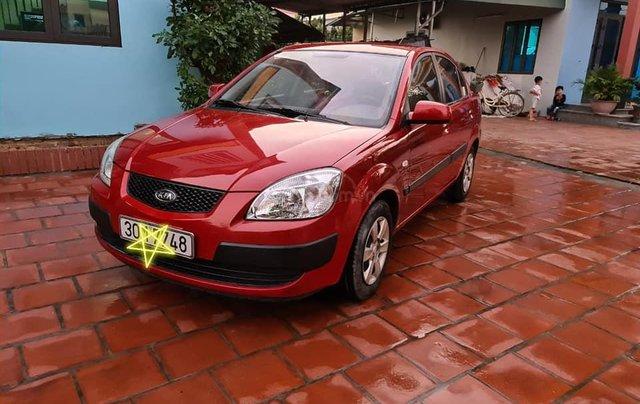 Cần bán nhanh chiếc Kia Pride sản xuất 2008, màu đỏ còn mới0
