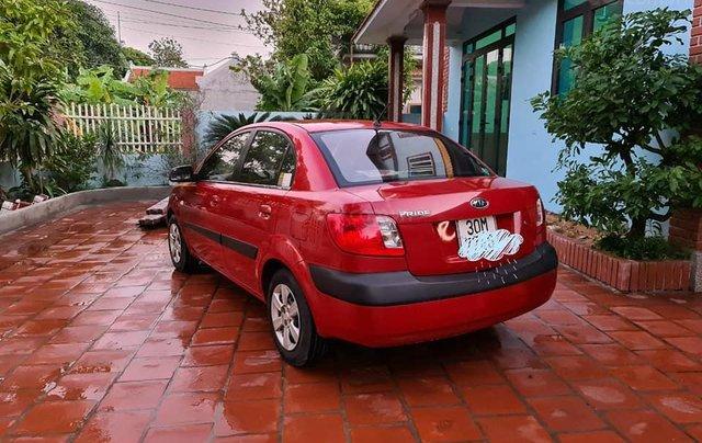 Cần bán nhanh chiếc Kia Pride sản xuất 2008, màu đỏ còn mới1