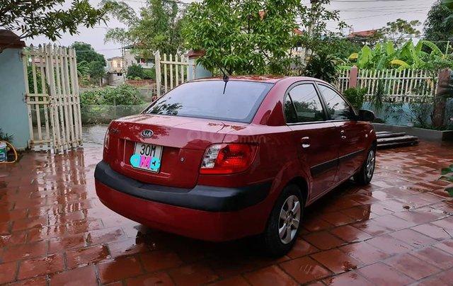 Cần bán nhanh chiếc Kia Pride sản xuất 2008, màu đỏ còn mới2