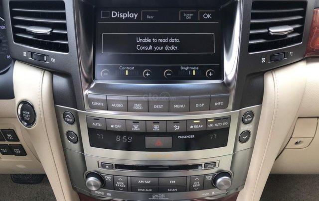 Cần bán Lexus LX570 2008 - đk 2010 - đã lên form 2015 (đồ lên chính hãng)3