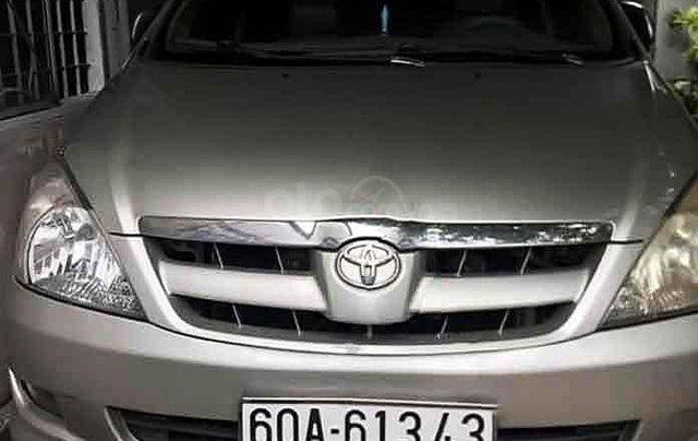 Cần bán Toyota Innova năm sản xuất 2008, giá ưu đãi0