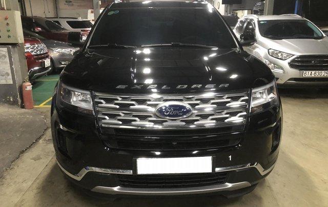 Ford Explorer 2019 ĐK 2020 đen phong cách đầy mạnh mẽ1