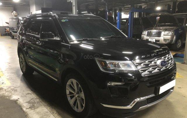 Ford Explorer 2019 ĐK 2020 đen phong cách đầy mạnh mẽ5