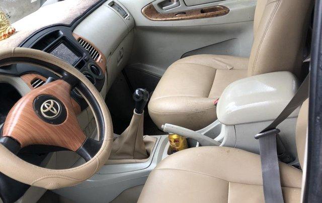 Cần bán nhanh chiếc Toyota Innova đời 2008, màu bạc giá cạnh tranh6