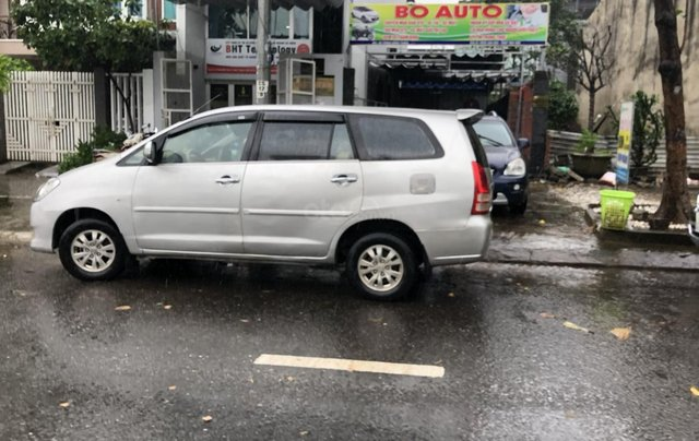 Cần bán nhanh chiếc Toyota Innova đời 2008, màu bạc giá cạnh tranh3