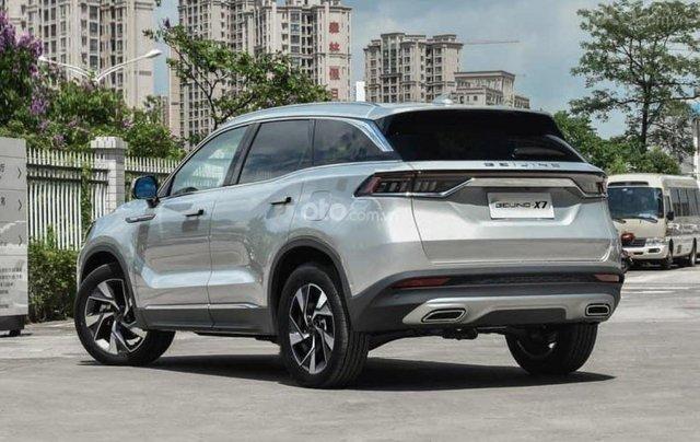 BAIC Beijing X7 2020 1.5 MT, động cơ xăng, màu bạc giá cả canh tranh0