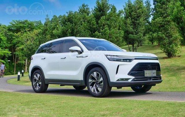 BAIC Beijing X7 2020 1.5 MT, động cơ xăng, màu trắng. Giá 528tr1