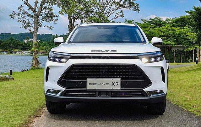 Bán BAIC Beijing X7 năm sản xuất 2020, màu trắng, xe nhập1