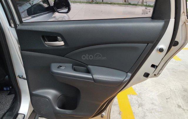 Bán xe Honda CRV 2014, màu ghi bạc13