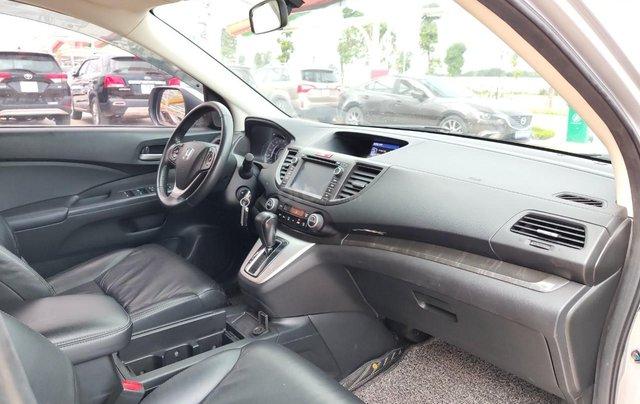 Bán xe Honda CRV 2014, màu ghi bạc14
