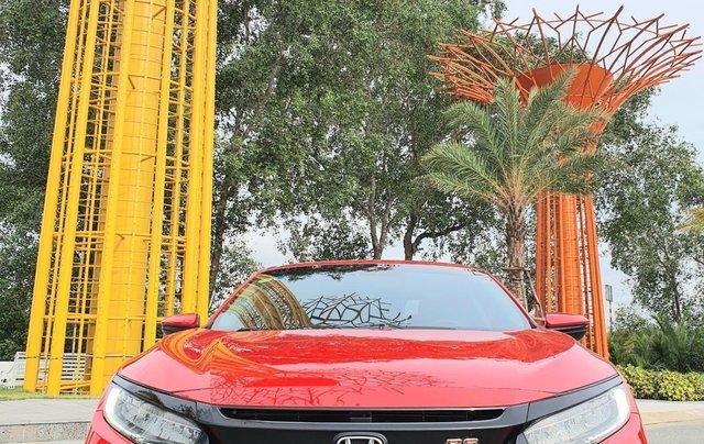 Honda Civic RS 2019 màu đỏ - đi 25.000km - 865 triệu - hỗ trợ trả góp 70% giá trị xe0