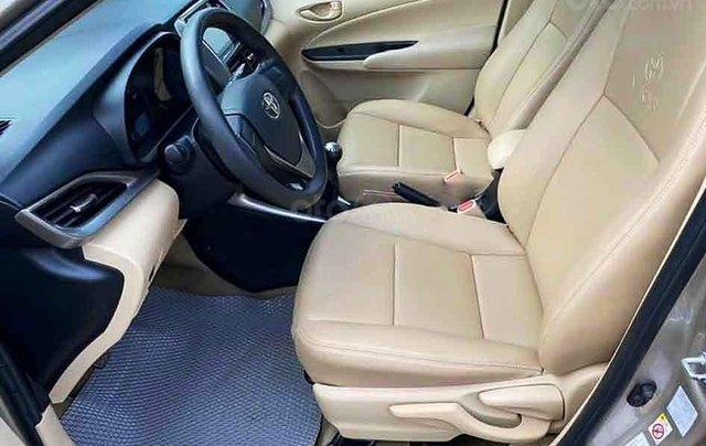 Bán Toyota Vios E sản xuất năm 2018, màu vàng cát1