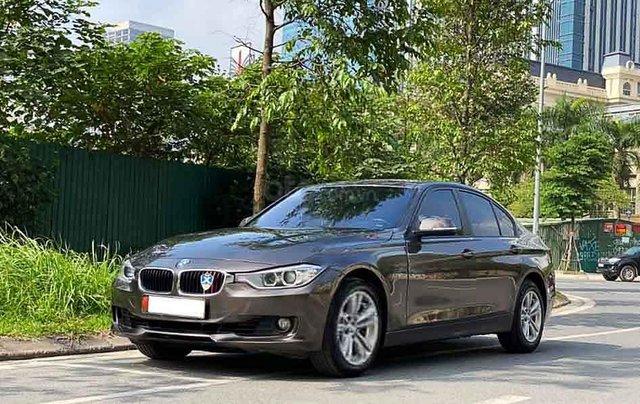 Bán BMW 3 Series 320i năm sản xuất 2013, màu nâu, xe nhập0