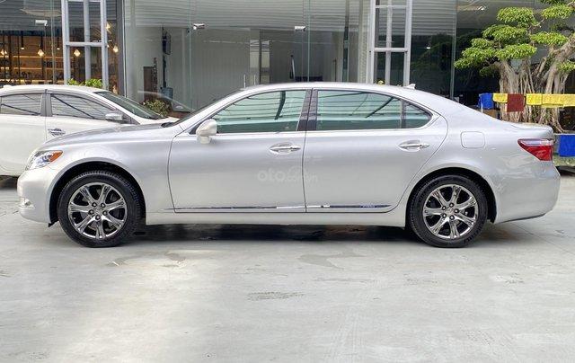 Bán xe Lexus LS600HL 2007 xe siêu đẹp, màu xám, nhiều trang thiết bị6