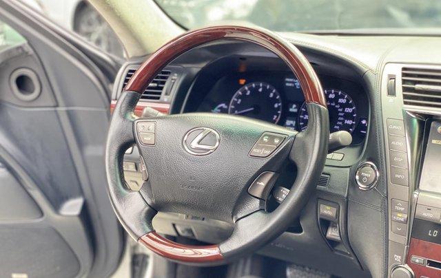 Bán xe Lexus LS600HL 2007 xe siêu đẹp, màu xám, nhiều trang thiết bị7