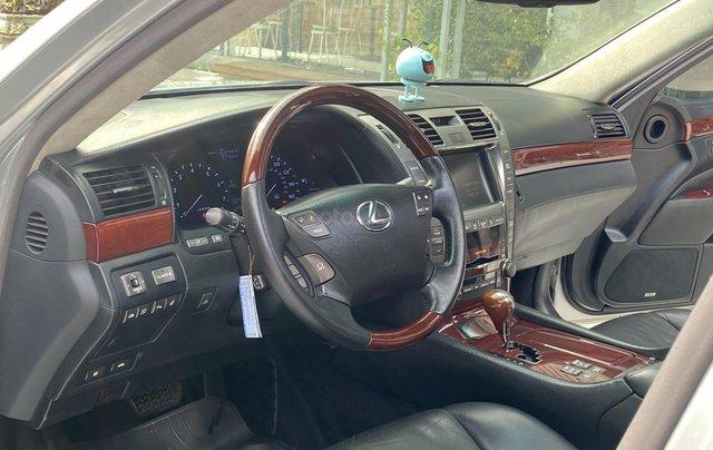 Bán xe Lexus LS600HL 2007 xe siêu đẹp, màu xám, nhiều trang thiết bị8