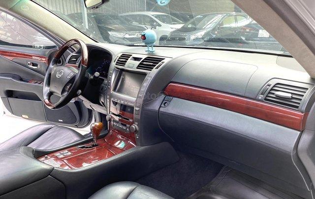Bán xe Lexus LS600HL 2007 xe siêu đẹp, màu xám, nhiều trang thiết bị9