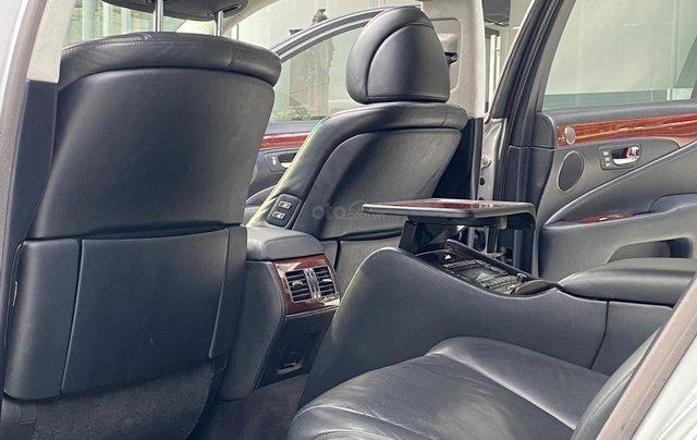 Bán xe Lexus LS600HL 2007 xe siêu đẹp, màu xám, nhiều trang thiết bị11