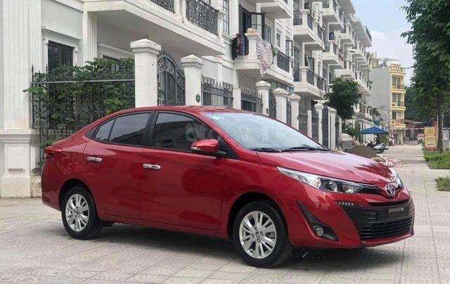 Hỗ trợ  mua xe giá thấp chiếc Toyota Vios G sản xuất 2019 siêu mới1
