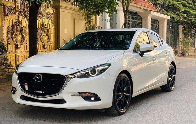 Bán em Mazda 3 1.5 sedan 2018, biển HN, màu trắng2