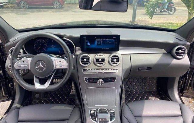 Hỗ trợ mua xe giá thấp với chiếc Mercedes-Benz C300 sản xuất 20185