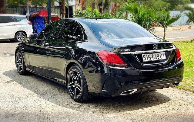 Hỗ trợ mua xe giá thấp với chiếc Mercedes-Benz C300 sản xuất 20183
