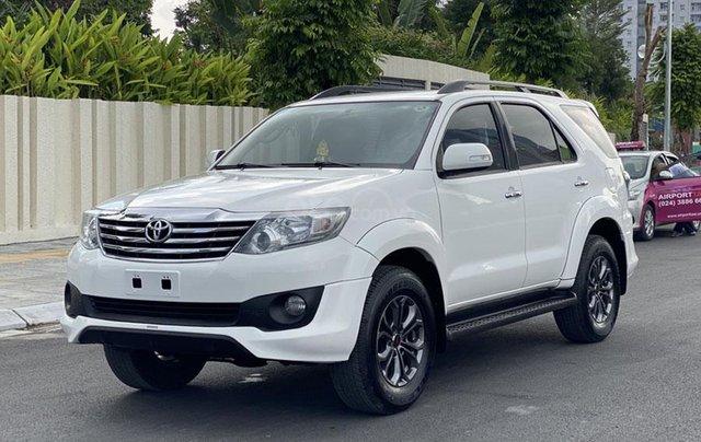 Mua xe giá thấp với chiếc Toyota Fortuner Sportivo sản xuất 20150