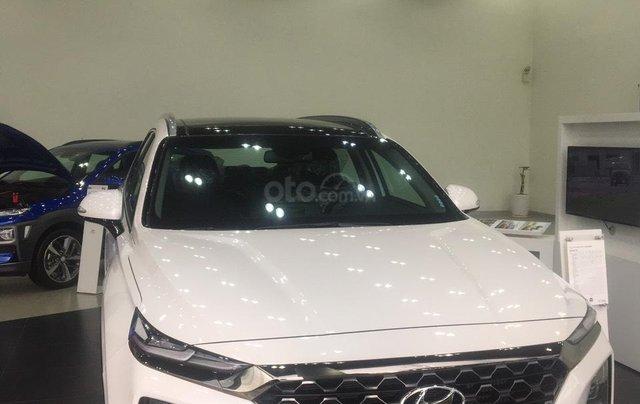 Giá xe SantaFe 2020, ưu đãi 100% thuế trước bạ, xe có sẵn giao ngay1