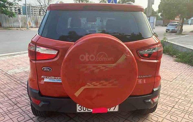 Bán Ford EcoSport 1.5 Titanium sản xuất 2016, màu đỏ chính chủ, 465tr4