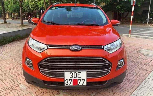 Bán Ford EcoSport 1.5 Titanium sản xuất 2016, màu đỏ chính chủ, 465tr0