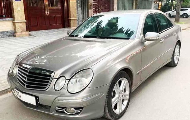 Cần bán xe Mercedes E200 Kompressor sản xuất 20080