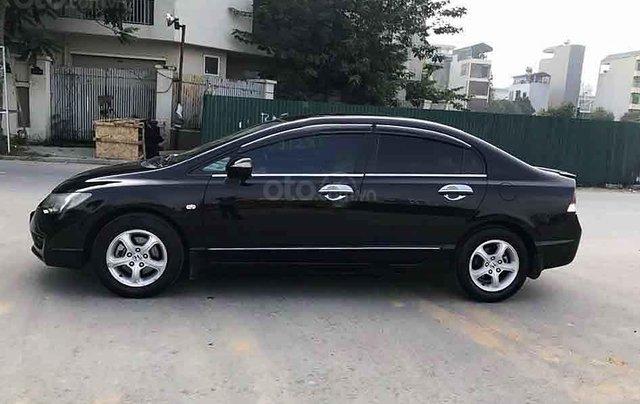 Cần bán lại xe Honda Civic sản xuất 2010, màu đen0