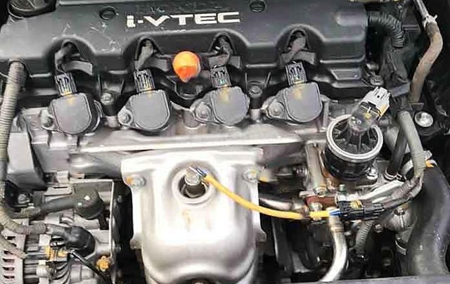 Cần bán lại xe Honda Civic sản xuất 2010, màu đen5