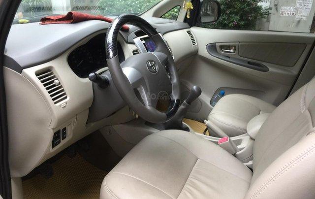Chính chủ tôi cần bán Toyota Innova 2.0E 2014 số sàn, màu vàng cát6