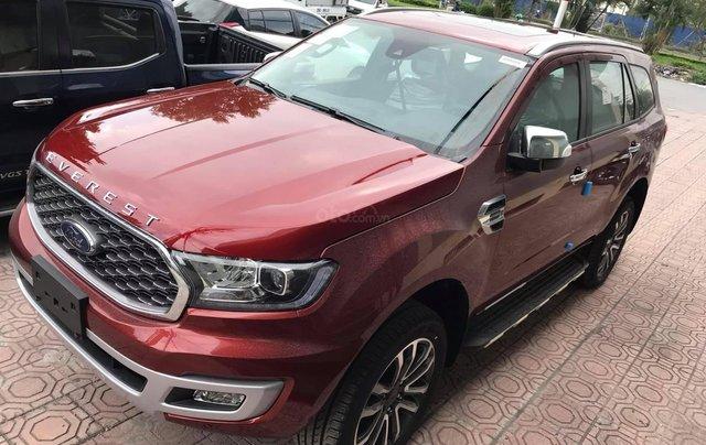 Ford Everest Titanium 4x2 AT 2021, tổng giảm giá lên đến 80 triệu, tặng phụ kiện chính hãng0