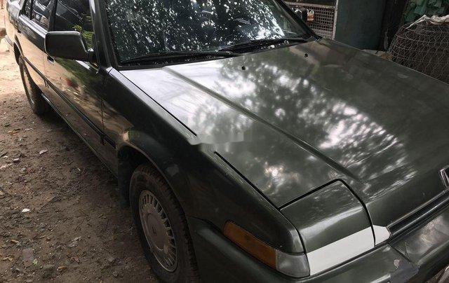 Bán Honda Accord sản xuất 1989, màu xám, nhập khẩu2