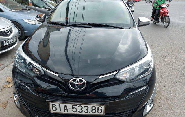 Cần bán gấp Toyota Vios 1.5G năm 2018, màu đen chính chủ0