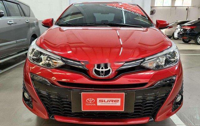 Cần bán gấp Toyota Yaris sản xuất năm 2019, màu đỏ, nhập khẩu nguyên chiếc, giá chỉ 680 triệu0