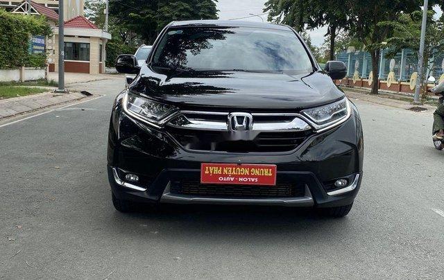 Bán Honda CR V 2018, màu đen, xe nhập, giá 888tr2