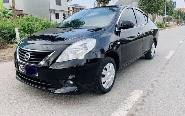 Xe Nissan Sunny năm sản xuất 2013, màu đen chính chủ8