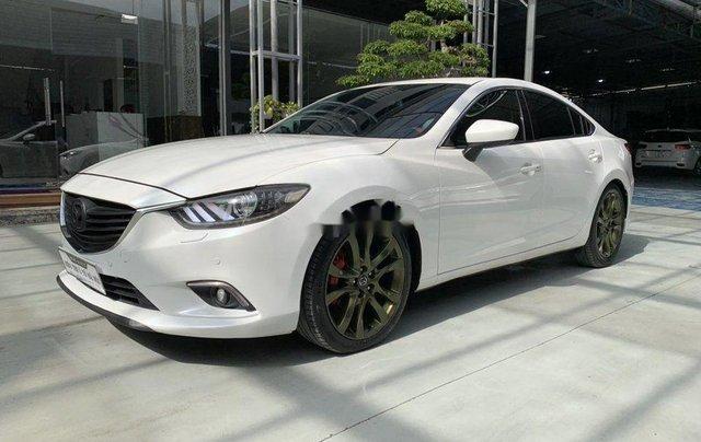 Xe Mazda 6 đời 2015, màu trắng chính chủ, giá tốt0