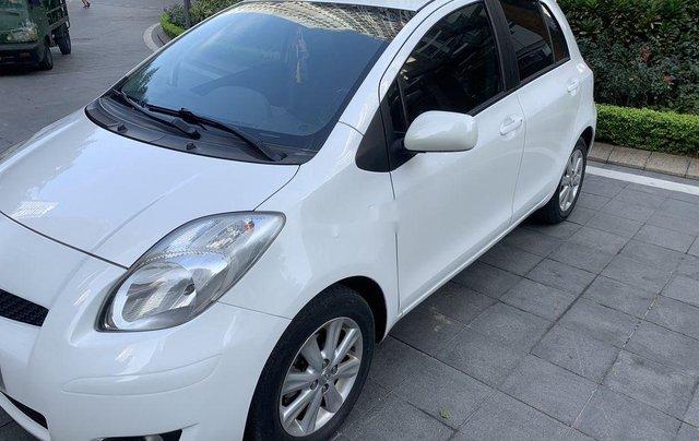 Bán Toyota Yaris sản xuất 2010, màu trắng, nhập khẩu còn mới, giá tốt7