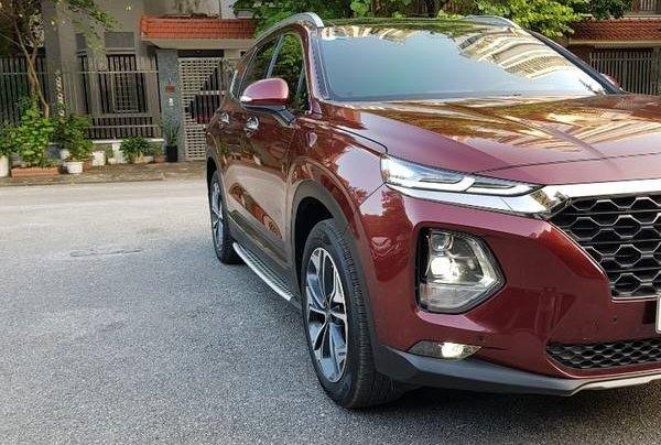 Bán Hyundai Santa Fe 2020, màu đỏ1