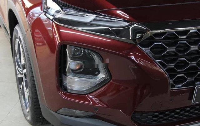 Bán ô tô Hyundai Santa Fe đời 2020, màu đỏ, giá 952tr2