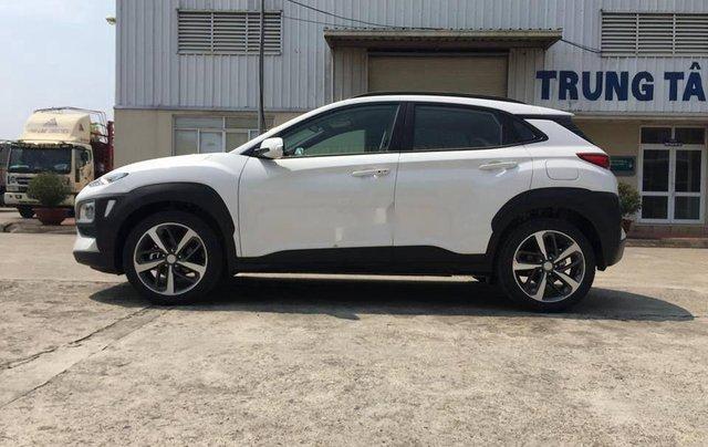 Hyundai Đông Đô bán xe Hyundai Kona năm sản xuất 2020, màu trắng0