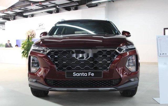 Bán ô tô Hyundai Santa Fe đời 2020, màu đỏ, giá 952tr0