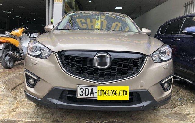 Bán xe Mazda CX 5 đời 2014, màu vàng còn mới, giá tốt0